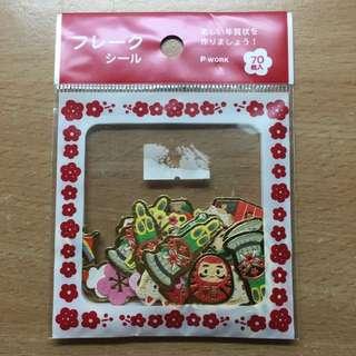 日本帶回 日本風味貼紙 70枚 櫻花款 包郵💖