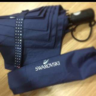swarovski 施華洛世奇 水晶自動傘 交換禮物