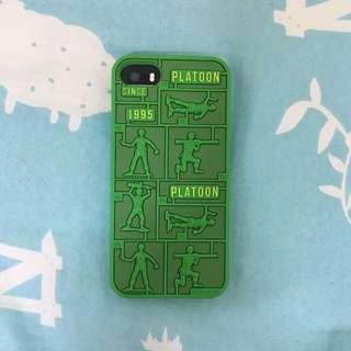 (保留中)iPhone 5/5s Toys' Story 士兵 手機殼 軟殼