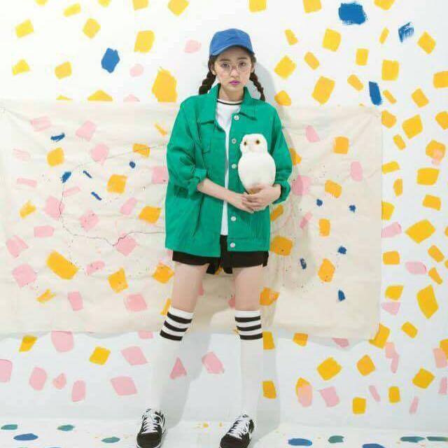綠色夾克外套(全新轉售)
