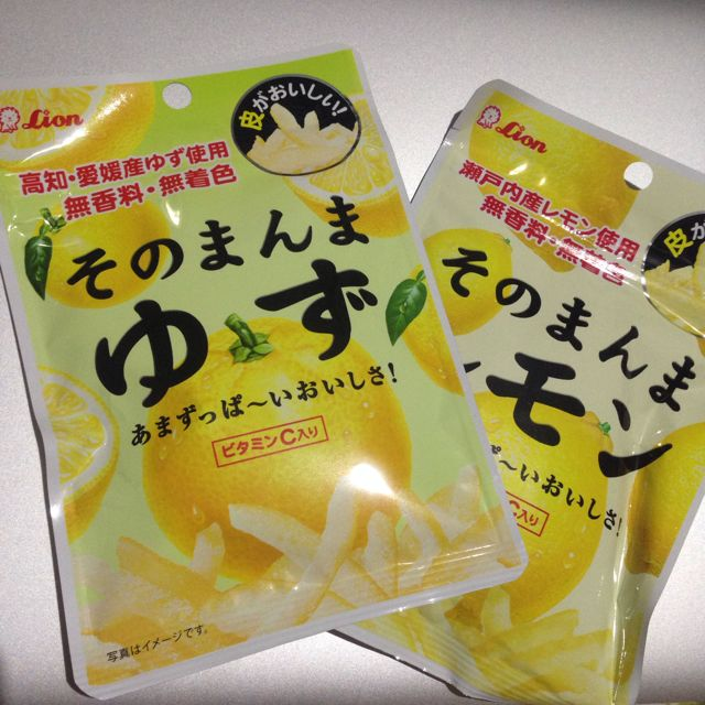 日本 檸檬皮絲 柚子皮絲糖