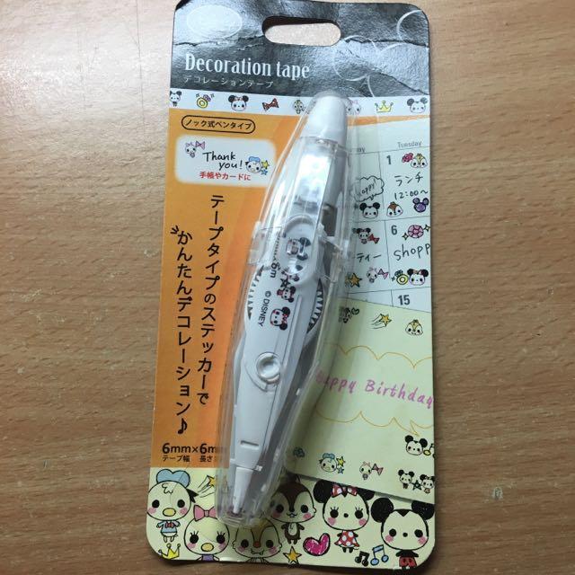 日本帶回 米奇米妮 PLUS Tape Deco Rush 花邊帶 怪獸大學MU 包郵