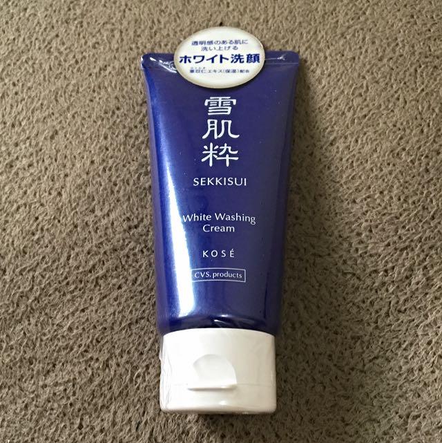 日本熱銷商品 KOSE 雪肌粹 洗面乳