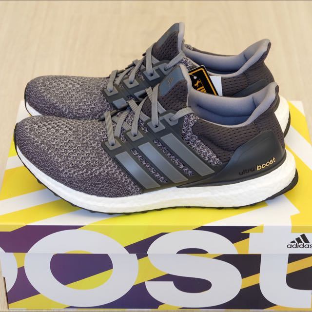 Adidas Ultra Boost Ltd Mystery Grey 迷幻灰