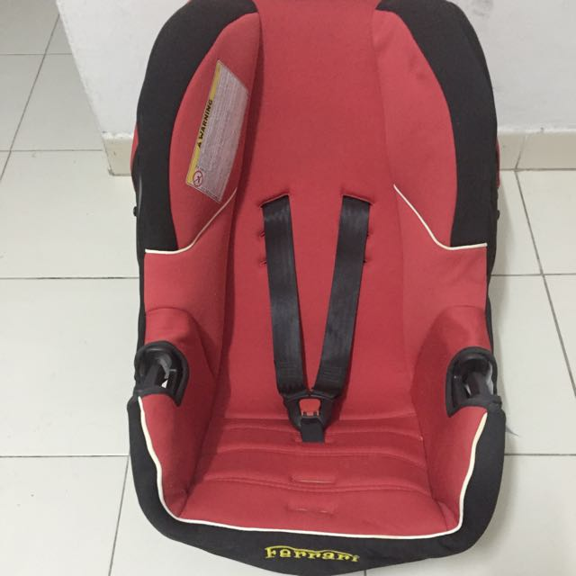 Baby/ Child Car Seat Ferrari (Pre-loved)