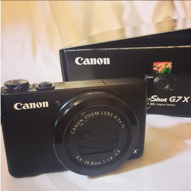 canon G7X 9成新