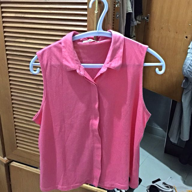 cotton shirt in pink