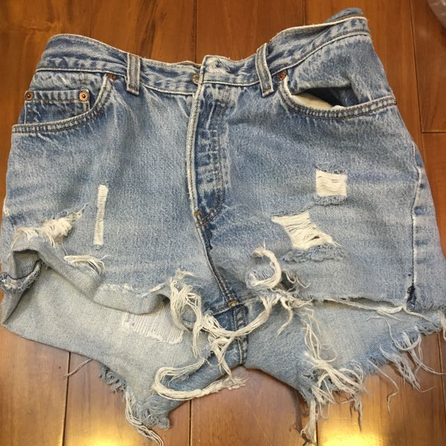 Levi's 牛仔 短褲