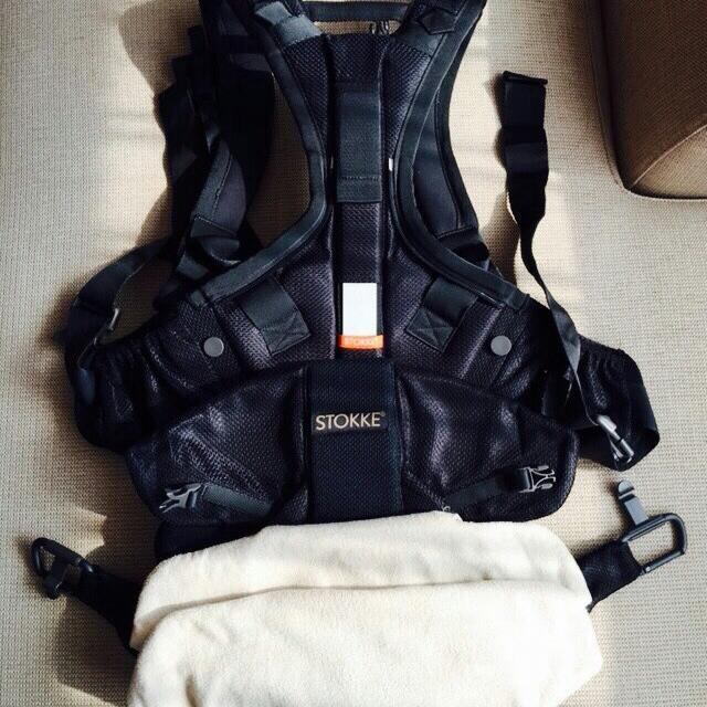 Stokke My Carrier Cool 涼爽型背巾 黑色