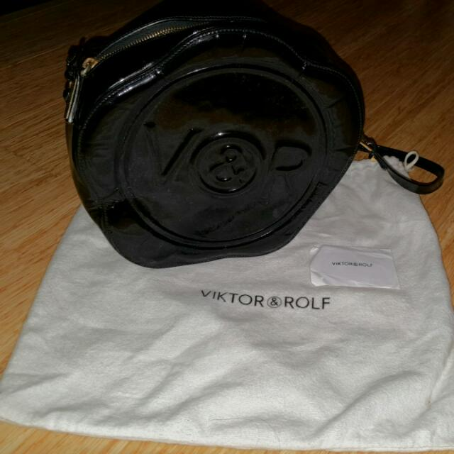 Viktor & Rolf Patent Leather Bag