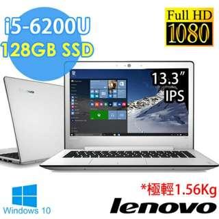 Lenovo 13吋第六代i5輕巧型筆電 idea 500s
