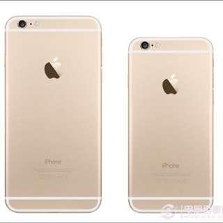 Iphone 6 Plus 16G 金(福利機,全新,店保固三個月)