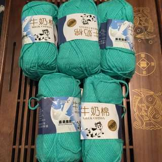 Milk Cotton Yarns For Sales!