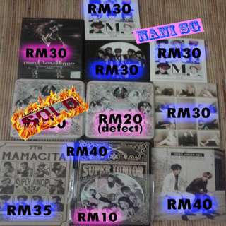 Super Junior & Girls' Generation (SNSD) Albums