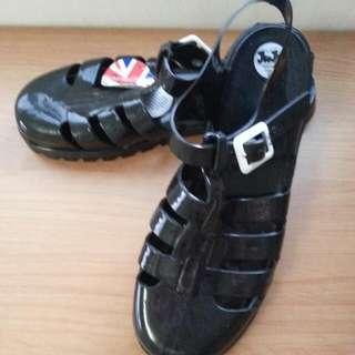 英國Juju 果凍鞋US7號