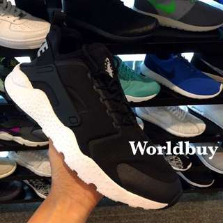 Nike Huarache Ultra 二代黑白武士鞋