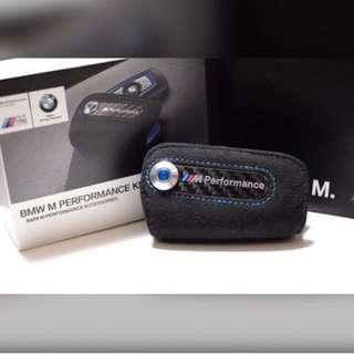 BMW M Performance麂皮鑰匙包(更新