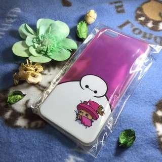 海賊王喬巴 粉紅Iphone6 Plus 現貨透明手機套背殼清水套果凍套