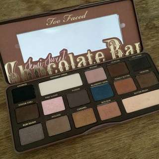 sold pending! too faced semi sweet