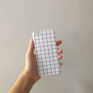 White Grid Phone case/cover
