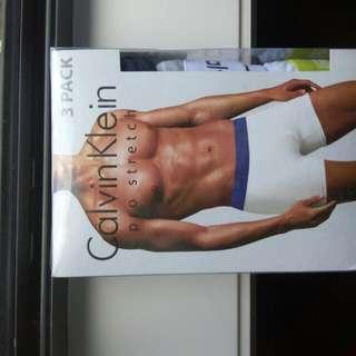 Calvin Klein : 3 Pack Boxer Briefs / Underwear For Men
