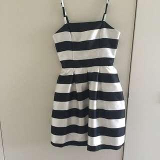Kookai stripe dress size 36