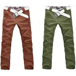 韓式休閒褲
