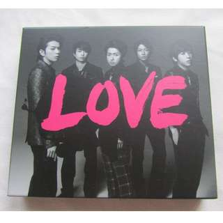 嵐 Arashi 日初 Love Album 專輯
