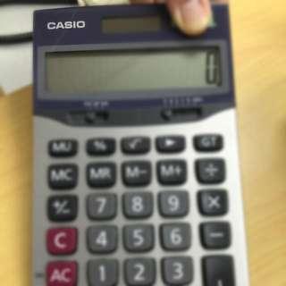 卡西歐專業 計算機(二手)