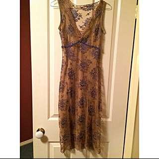 Review Fine Lace Dress- size 6