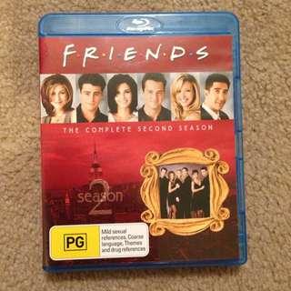 Blu Ray Friends Season 2