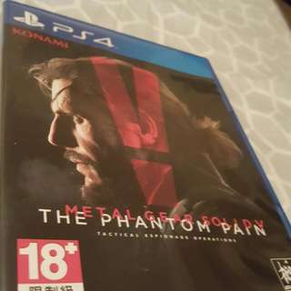 Metai Gear Solid V. Ps4
