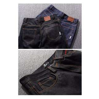 【F04】重磅單寧原色縮口牛仔褲 (特價中)