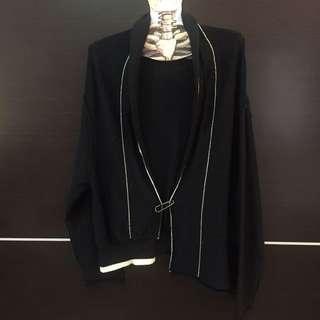 造型針織外套