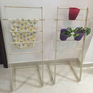 Towel Stand And Pot Holder