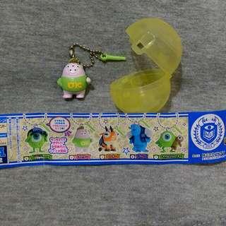 絕版怪獸大學/怪獸電力公司 扭蛋 公仔 鑰匙圈 吊飾