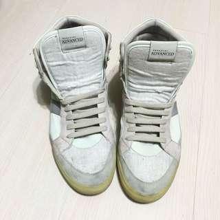 Serafini Advanced義大利製皮革高筒休閒鞋