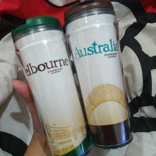 Tumbler City Starbucks Edisi Melbourne & Australia
