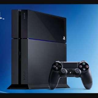 Wtb Brand New PS4