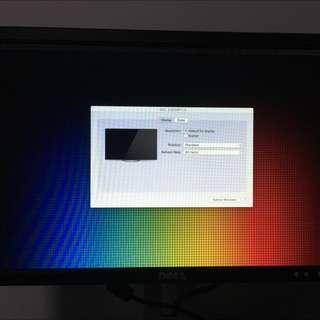 Dell E198WFP Monitor (19 Inch Wide) X2