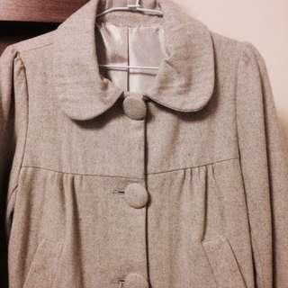 毛呢大衣外套