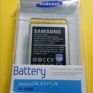 全新Samsung GALAXY s3電池2100mAh