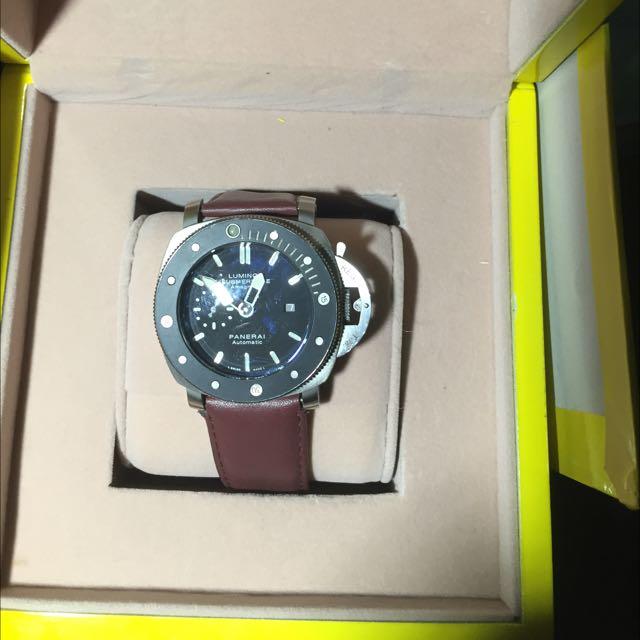 沛納海~鈦合金機械錶