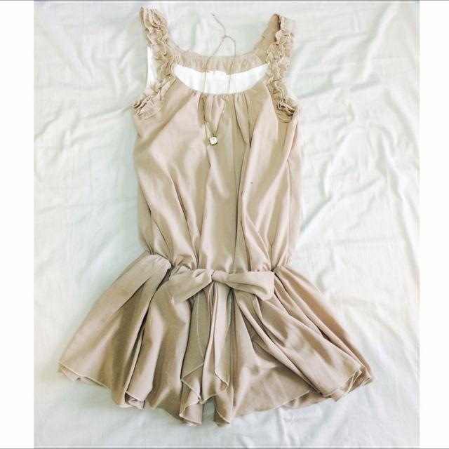 韓雪紡小洋裝