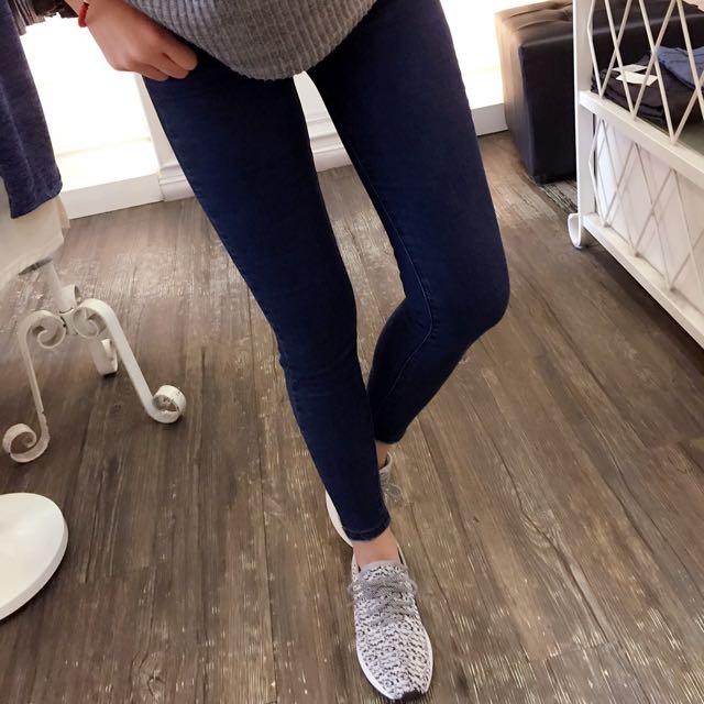 韓💯超顯瘦彈力牛仔褲
