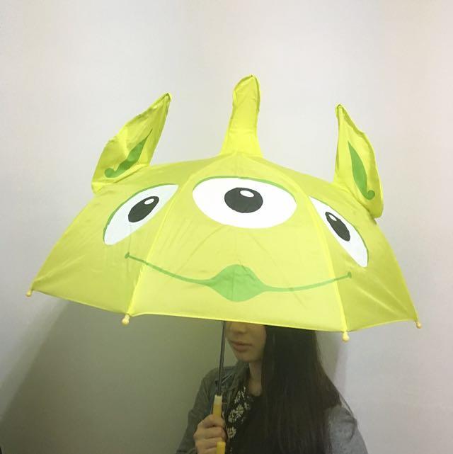 香港迪士尼帶回限量三眼怪雨傘