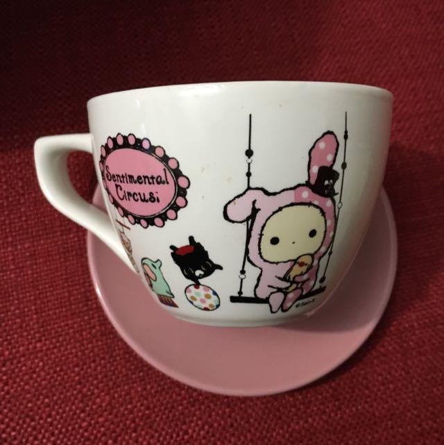 憂傷馬戲團咖啡杯盤