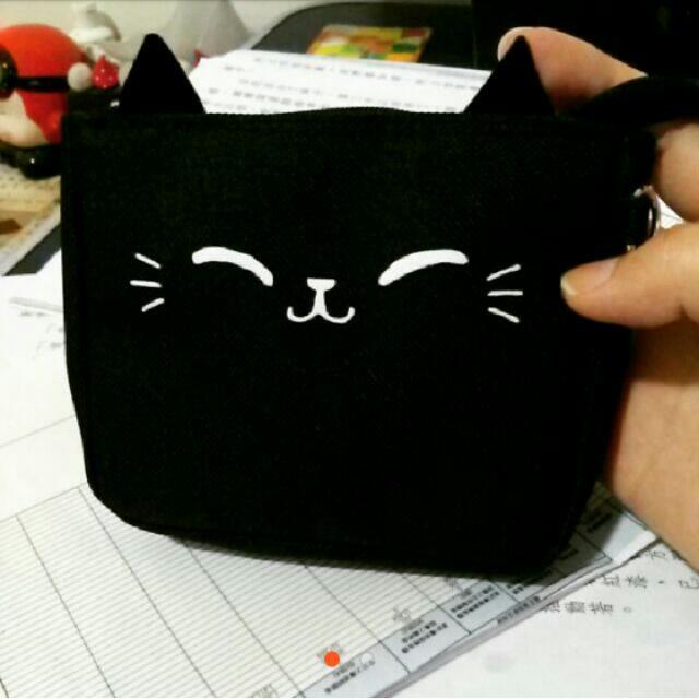 笑笑黑貓 小物 萬用包