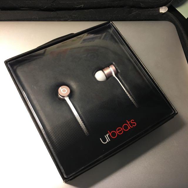全新 urbeats Rose Gold- Beats 玫瑰金 特別版耳機