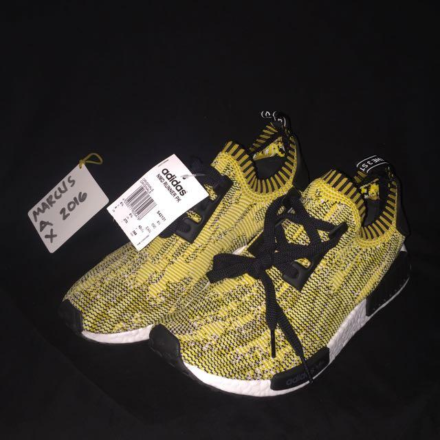 8b7342dc6 Adidas NMD RUNNER PK Yellow Camo